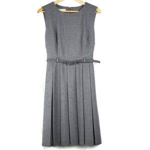 Pendleton Virgin Wool Grey Belted Dress